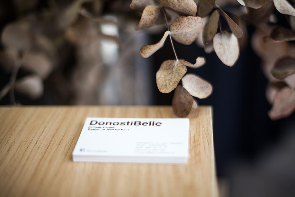 DonostiBelle - Contacto